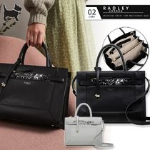 RADLEY Casual Style A4 2WAY Plain Leather Office Style