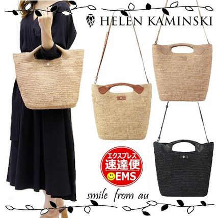 Casual Style 2WAY Plain Logo Shoulder Bags