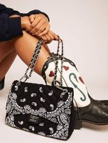 SKINNYDIP Paisley Casual Style Chain Party Style With Jewels Crossbody