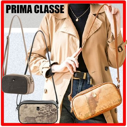 PRIMA CLASSE Shoulder Bags Casual Style Street Style Shoulder Bags