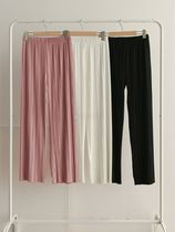 Casual Style Plain Long Formal Style  Pants