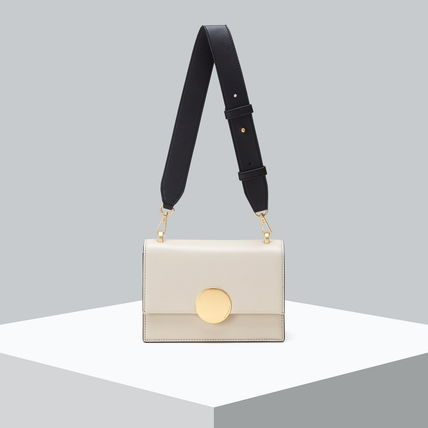 Casual Style 2WAY Leather Elegant Style Crossbody