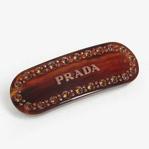 PRADA Costume Jewelry Barettes Casual Style Party Style