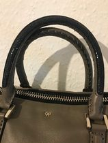 Anya Hindmarch Casual Style Tassel A4 2WAY 3WAY Leather Office Style