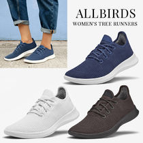allbirds Rubber Sole Casual Style Plain Low-Top Sneakers