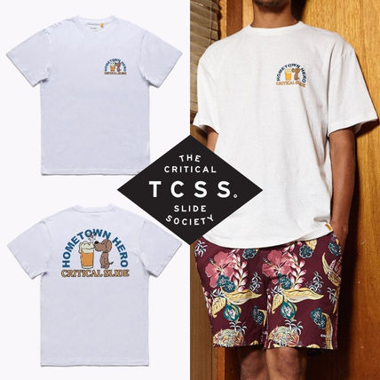 TCSS More T-Shirts Street Style Cotton Short Sleeves Surf Style T-Shirts