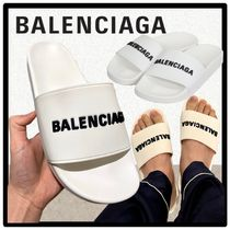 BALENCIAGA Casual Style Street Style Sport Sandals Shower Shoes