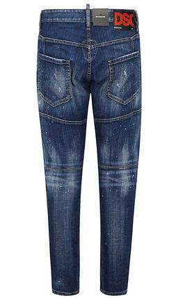 D SQUARED2 More Jeans Unisex Street Style Cotton Jeans 2