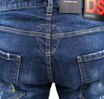 D SQUARED2 More Jeans Unisex Street Style Cotton Jeans 10