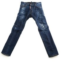 D SQUARED2 More Jeans Unisex Street Style Cotton Jeans 16