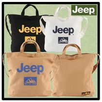 JEEP Casual Style Unisex Street Style Shoulder Bags