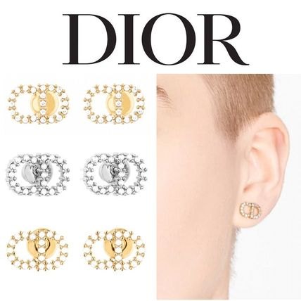 Christian Dior Costume Jewelry Casual Style Studded Party Style