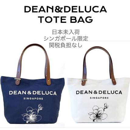 Casual Style Canvas Faux Fur Plain Logo Totes