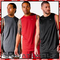 SQUAT WOLF Street Style Co-ord Activewear Tops