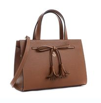 CARBOTTI Casual Style Leather Elegant Style Handbags