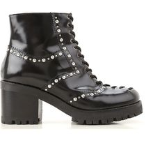 McQ Leather Boots Boots