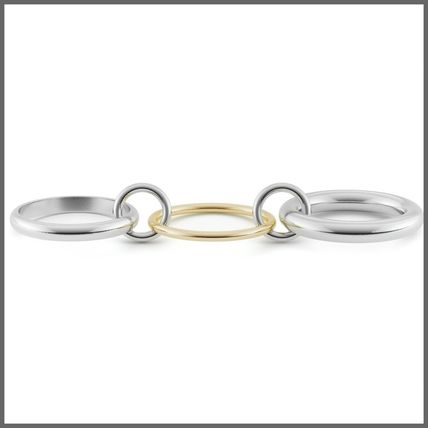 Casual Style Silver 18K Gold Office Style Elegant Style