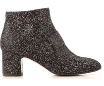 CHIE MIHARA Leather Mid Heel Boots