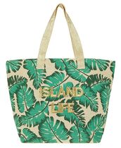 Accessorize Tropical Patterns Casual Style Unisex Canvas Street Style A4