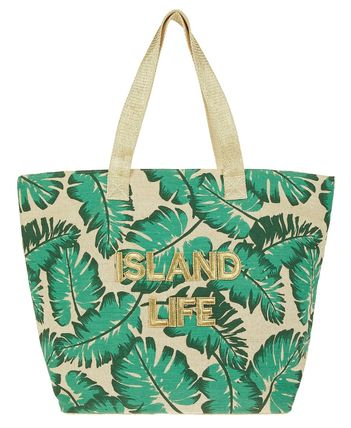 Tropical Patterns Casual Style Unisex Canvas Street Style A4
