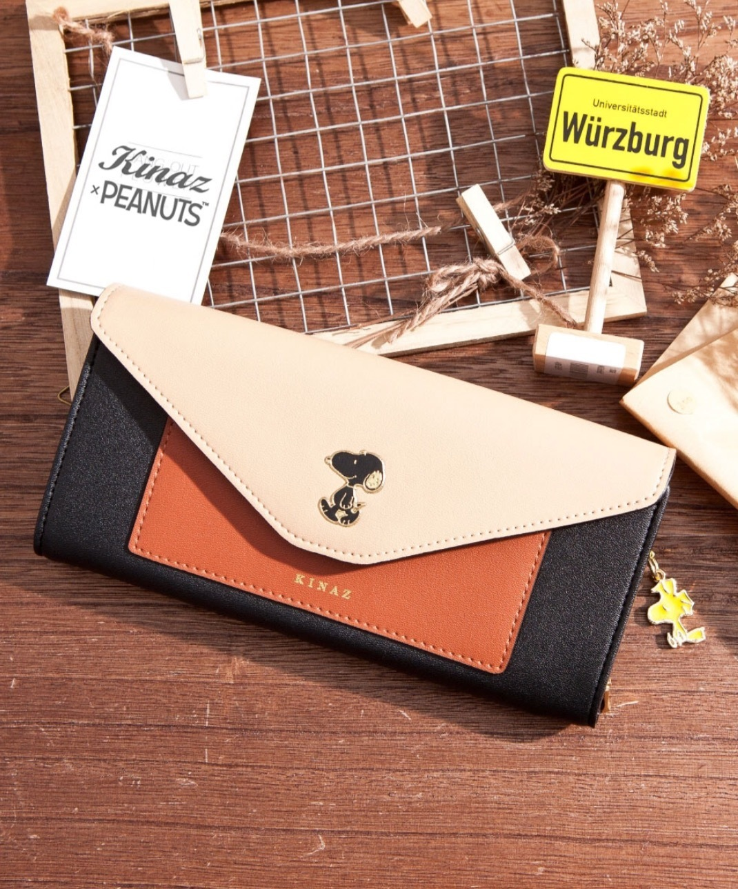 shop peanuts wallets & card holders