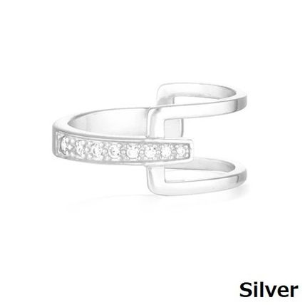 Casual Style Party Style Silver With Jewels Office Style