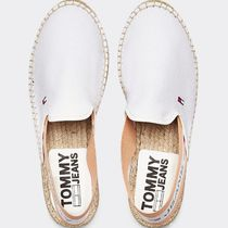Tommy Hilfiger Round Toe Casual Style Plain Logo Sandals Sandal