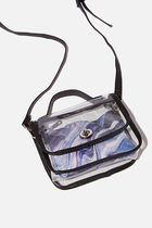 TYPO Casual Style 2WAY Party Style Crystal Clear Bags Crossbody