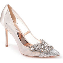 Badgley Mischka Pin Heels Party Style With Jewels Elegant Style