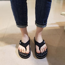 THE NORTH FACE WHITE LABEL Casual Style Unisex Street Style Plain Slippers Logo