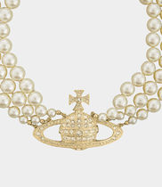 Vivienne Westwood Party Style Brass Elegant Style Party Jewelry