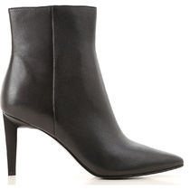 Kendall + Kylie Leather Mid Heel Boots