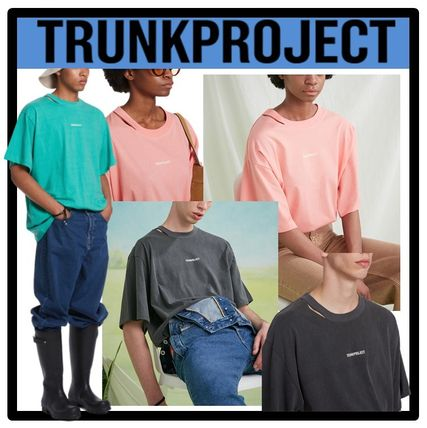 TRUNK PROJECT More T-Shirts Unisex Street Style Short Sleeves T-Shirts