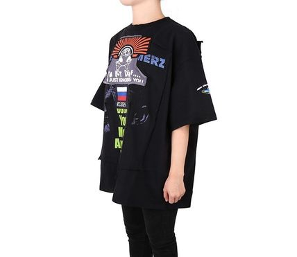 VETEMENTS More T-Shirts Unisex Street Style Short Sleeves T-Shirts 2