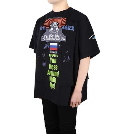 VETEMENTS More T-Shirts Unisex Street Style Short Sleeves T-Shirts 4