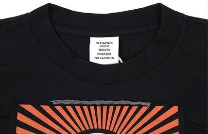 VETEMENTS More T-Shirts Unisex Street Style Short Sleeves T-Shirts 7