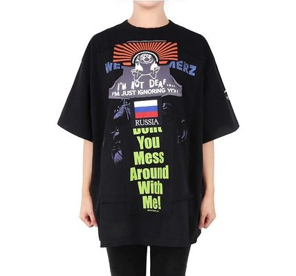 VETEMENTS More T-Shirts Unisex Street Style Short Sleeves T-Shirts 13