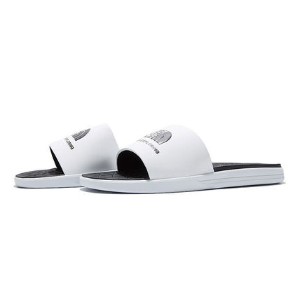 THE NORTH FACE WHITE LABEL Unisex Street Style Plain Logo Loafers & Slip-ons