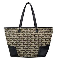 JUICY COUTURE Casual Style Faux Fur Office Style Elegant Style Logo Totes