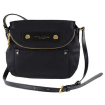 MARC JACOBS Nylon Plain Crossbody Logo Shoulder Bags