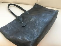 BOTTEGA VENETA A4 Plain Other Animal Patterns Leather Totes