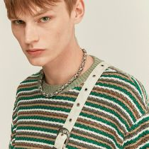 ANDERSSON BELL Street Style Short Sleeves Sweaters