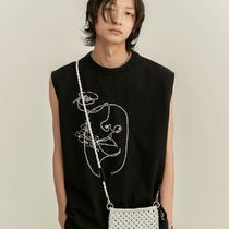 ANDERSSON BELL Street Style Cotton Tanks