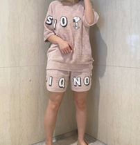 gelato pique Short Casual Style Unisex Street Style Collaboration Logo