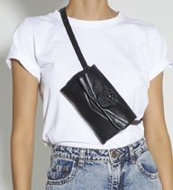 SCHUTZ Casual Style Plain Leather Crossbody Hip Packs