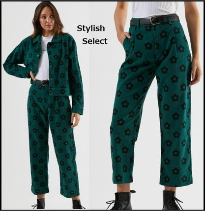 Casual Style Cotton Pants