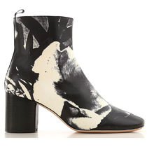 Paul Smith Leather Mid Heel Boots