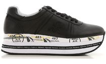 PREMIATA Leather Low-Top Sneakers