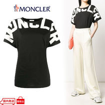 MONCLER Cotton Medium Short Sleeves Logos on the Sleeves Logo