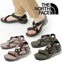 THE NORTH FACE Casual Style Unisex Sport Sandals Logo Flat Sandals